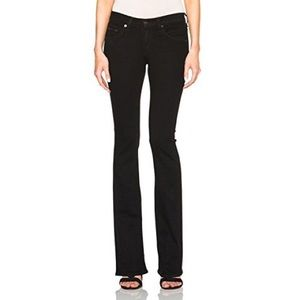 Rag & Bone Stiletto Boot Jeans Coal
